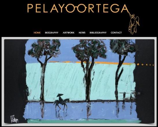 Entra en la página web de Pelayo Ortega.