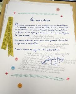 Poema de Tomás Sánchez Santiago.