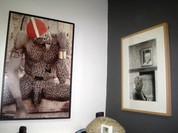 Montaje de la exposición. © Fotografías: E. Otero.
